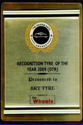 On wheels award
